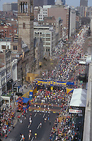 Boston Marathon finish line, Boston, MA