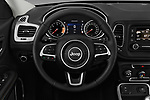 Car pictures of steering wheel view of a 2017 Jeep Compass Sport 2wd 5 Door SUV
