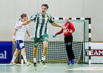 Stockholm 2014-09-18 Handboll Elitserien Hammarby IF - IFK Sk&ouml;vde :  <br /> Hammarbys Anders Wiik-Rydberg jublar efter ett av sina m&aring;l<br /> (Foto: Kenta J&ouml;nsson) Nyckelord:  Eriksdalshallen Hammarby HIF HeIF Bajen IFK Sk&ouml;vde jubel gl&auml;dje lycka glad happy