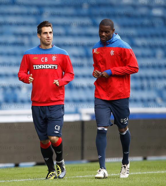 Carlos Bocanegra and Maurice Edu