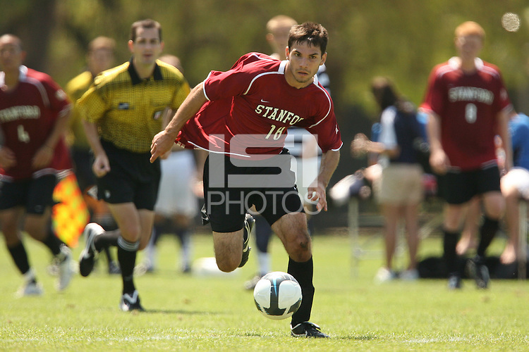 STANFORD, CA - AUGUST 20:  Dersu Abolfathi of the Stanford Cardinal during Stanford's 0-0 tie with Sonoma State on August 20, 2009 in Stanford, California.