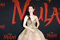 """LOS ANGELES - MAR 9:  Yifei Liu at the """"Mulan"""" Premiere at the Dolby Theater on March 9, 2020 in Los Angeles, CA"""