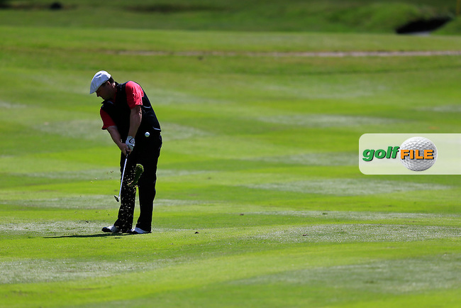 Chris DOAK (SCO) during the final round of the BMW PGA championship, Wentworth Golf Club, Virginia Waters, London.<br /> Picture: Fran Caffrey www.golffile.ie