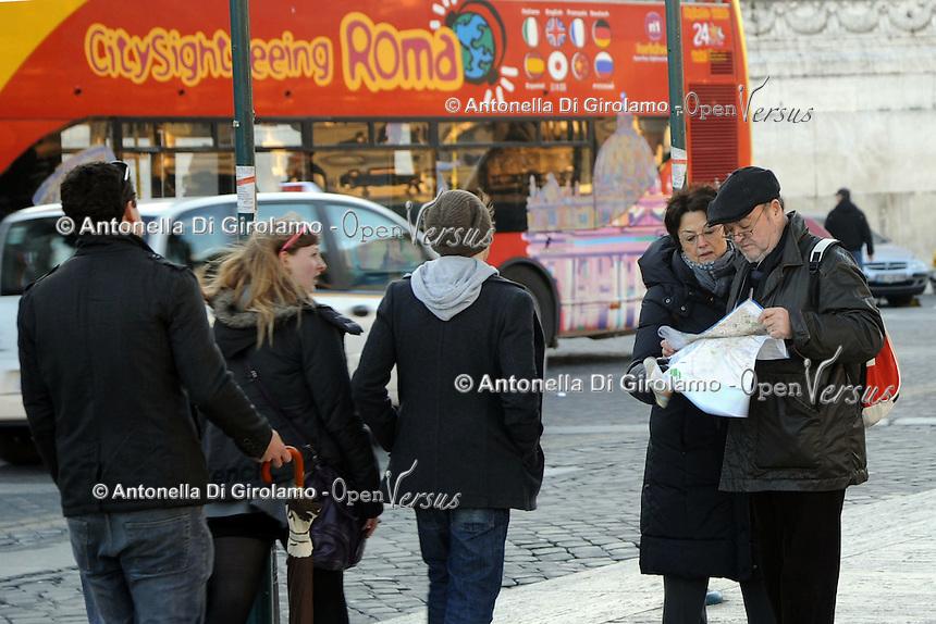 Piazza Venezia.Roma.