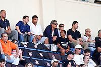 SÃO PAULO,SP,02 SETEMBRO 2012 - CAMPEONATO BRASILEIRO - CORINTHIANS x ATLETICO MG - O ex jogador Ronaldo é visto  partida Corinthians x Atletico MG válido pela 21º rodada do Campeonato Brasileiro no Estádio Paulo Machado de Carvalho (Pacaembu), na região oeste da capital paulista na tarde deste domingo (02).(FOTO: ALE VIANNA -BRAZIL PHOTO PRESS)