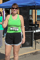 Relay for Life 5K walk/run race in Yorkville, Ohio on March 17, 2012.