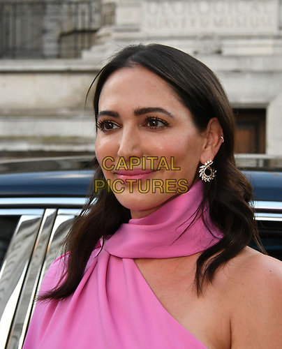 Lauren Silverman attends Sony Music imprint Syco's summer party at Victoria and Albert Museum, London, UK, 4th July 2019.<br />  CAP/JOR<br /> ©JOR/Capital Pictures