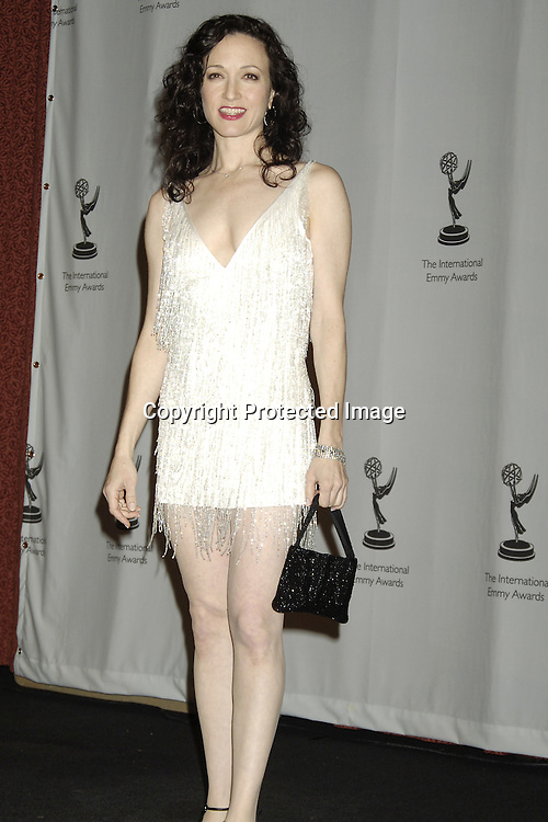 Bebe Neuwirth..in The Press Room  of the 33rd  International Emmy Awards Gala on November 21, 2005 at the New York Hilton. ..Photo by Robin Platzer, Twin Images