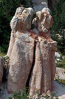 Bulgarien, Kalksteinpyramiden von Kardschali