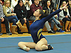 Emily Corso of Massapequa performs her floor routine during a Nassau County varsity gymnastics meet against Plainview JFK at McKenna Elementary School on Monday, Feb. 1, 2016.