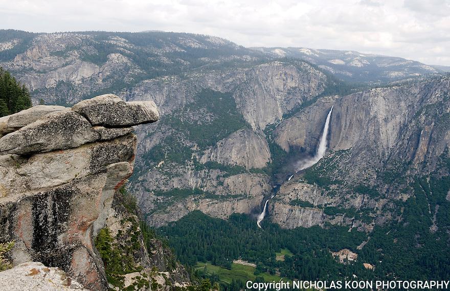 Upper and Lower Yosemite Falls, Yosemite - 2011