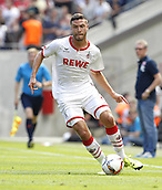 01.08.2015. RheinEnergieStadion, Cologne, Germany. Colognes Jonas Hector during the Colonia Cup 2015 between  FC Cologne and Stoke City FC