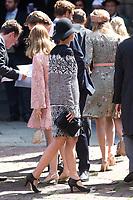 Mariage du Prince Ernst junior de Hanovre et de Ekaterina Malysheva &agrave; l'&eacute;glise Markkirche &agrave; Hanovre.<br /> Allemagne, Hanovre, 8 juillet 2017.<br /> Wedding of Prince Ernst Junior of Hanover and Ekaterina Malysheva at the Markkirche church in Hanover.<br /> Germany, Hanover, 8 july 2017<br /> Pic :  Princess Charlotte Casiraghi