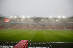 General view as the storm hits during the Premier League match at Bramall Lane, Sheffield. Picture date: 9th February 2020. Picture credit should read: Simon Bellis/Sportimage