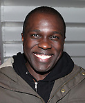 Joshua Henry backstage at Encores! 'Cotton Club Parade' at City Center in New York City on 11/17/2012