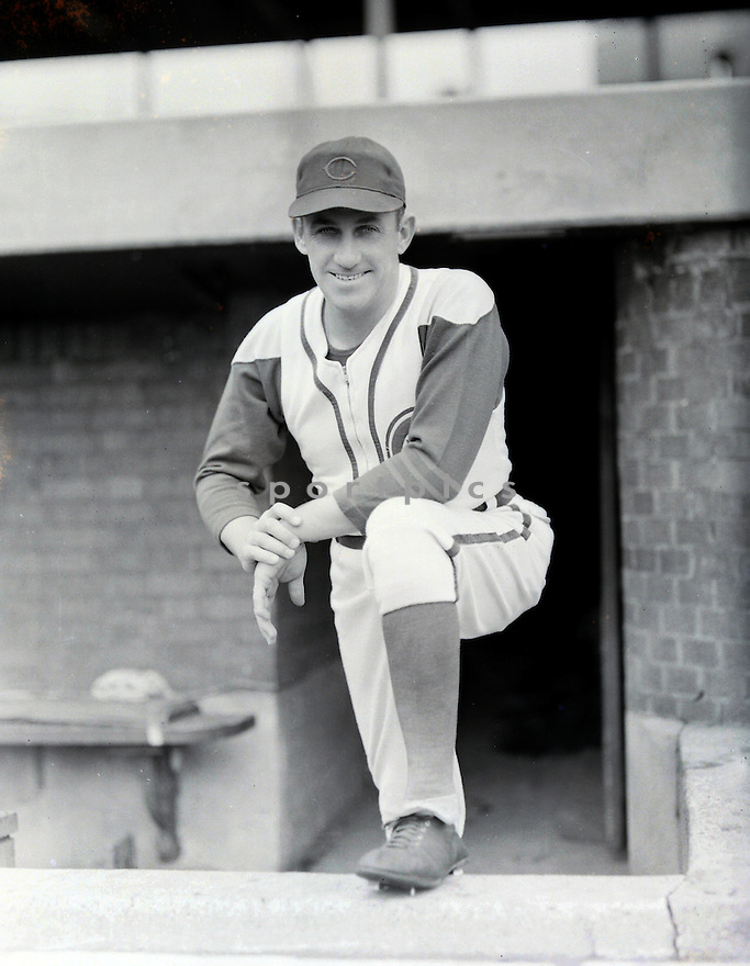 Chicago Cubs Kiki Cuyler (3) portrait from the 1930's. Kiki Cuyler played for 18 years with 4 different teams, was a 1-time All-Star  and was elected to the Baseball Hall of Fame in 1968.