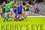 Aidan Walsh South Kerry in Action against  Kenmare in the County Senior Football Semi Final at Fitzgerald Stadium Killarney on Sunday.