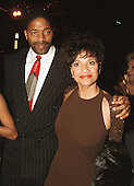 """""""Amistad"""" co-producer Debbie Allen and her husband, former NBA great Norm Nixon, arrive at the Warner Theatre for the Washington, D.C. Premiere of her latest movie """"Amistad"""" on December 4, 1997..Credit: Ron Sachs / CNP"""