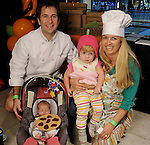 Erin and Daniel Fuchs with Allison and Emily at the Little Galleria Halloween Spooktacular presented by MD Anderson Children's Cancer Hospital at The Galleria Sunday Oct. 30,2016.(Dave Rossman photo)