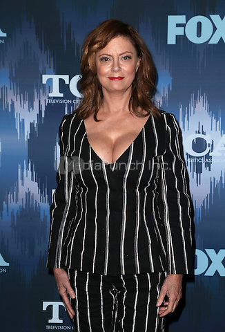 Pasadena, CA - JANUARY 11: Susan Sarandon, At 2017 Winter TCA Tour - FOX All-Star Party, At Langham Hotel In California on January 11, 2017. Credit: Faye Sadou/MediaPunch