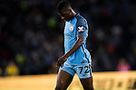 Manchester City striker Kelechi Iheanacho reacts during the match between Manchester City vs Borussia Dortmund at the 2016 International Champions Cup China match at the Shenzhen Stadium on 28 July 2016 in Shenzhen, China. Photo by Victor Fraile / Power Sport Images