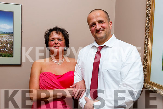 Jens and Carina Schadlich taking part in the Ballymac Strictly Love dancing in the Ballygarry House Hotel on Saturday.