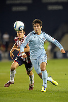 Sporting KC forward Soony Saad in action... Sporting Kansas City played Chivas Guadalajara to a 2-2 tie at LIVESTRONG Sporting Park, Kansas City, Kansas in an international friendly.