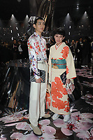Ryo Ryusei and Mademoiselle Yulia in the front row<br /> <br /> Dior Homme show, Front Row, Pre Fall 2019, Tokyo, Japan - 30 Nov 2018<br /> CAP/SAT<br /> &copy;Satomi Kokubun/Capital Pictures