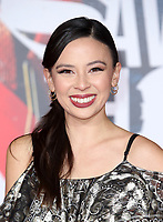 LOS ANGELES, CA - NOVEMBER 13: Malese Jow, at the Justice League film Premiere on November 13, 2017 at the Dolby Theatre in Los Angeles, California. Credit: Faye Sadou/MediaPunch