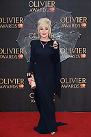 Tracie Bennett arriving for the Olivier Awards 2018 at the Royal Albert Hall, London, UK. <br /> 08 April  2018<br /> Picture: Steve Vas/Featureflash/SilverHub 0208 004 5359 sales@silverhubmedia.com