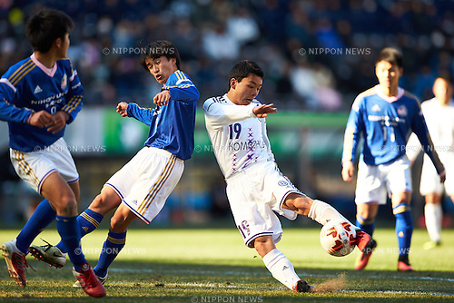 Taise Yoneda (), <br /> JANUARY 5, 2017 - Football /Soccer : <br /> 95th All Japan High School Soccer Tournament <br /> Quarter-final match <br /> between Sano Nihon University high school 2-1 Komazawa University high school <br /> at Fukuda Denshi Arena, Chiba, Japan. <br /> (Photo by AFLO SPORT)