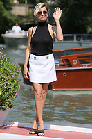 VENICE, ITALY - September 01: Micaela Ramazzotti arrives in Darsena Excelsior during the 76th Venice Film Festival  on September 01, 2019 in Venice, Italy. (Photo by Mark Cape/Insidefoto)<br /> Venezia 01/09/2019
