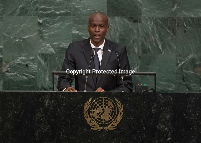 72 General Debate – 20 September <br /> <br /> His Excellency Jovenel Moise, President of the Republic of Haiti