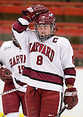 Kathryn Farni (Harvard - 8) - The Harvard University Crimson defeated the Northeastern University Huskies 1-0 to win the 2010 Beanpot on Tuesday, February 9, 2010, at the Bright Hockey Center in Cambridge, Massachusetts.