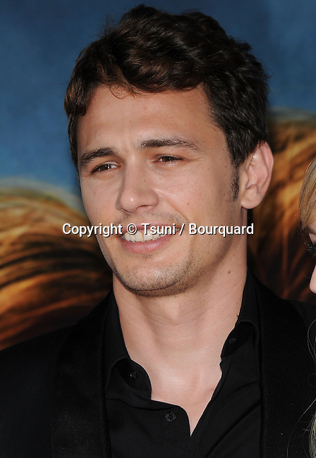 James Franco    - <br /> Pineapple Express Premiere at the Westwood Village Theatre In Los Angeles.<br /> <br /> headshot<br /> smile