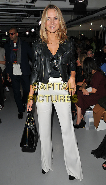 Kimberley Garner attends the PPQ LFW s/s 2016 catwalk show, The Vinyl Factory, Marshall Street, London, England, UK, on Friday 18 September 2015. <br /> CAP/CAN<br /> &copy;Can Nguyen/Capital Pictures