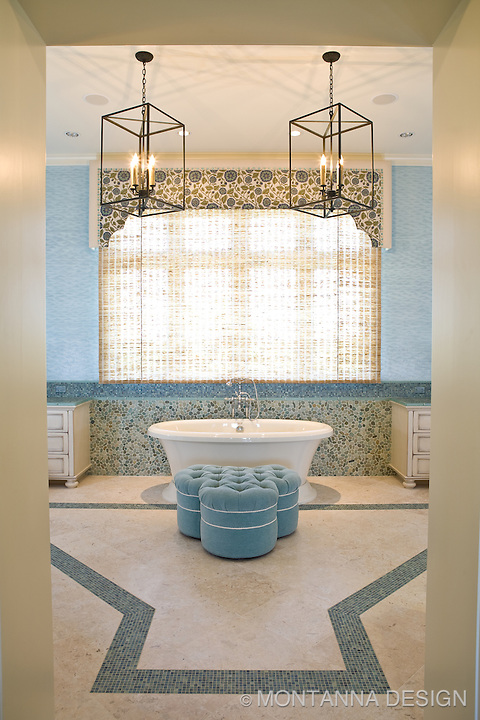 "Achieve ""perfect balance"" after a day at the beach by relaxing in the soaking tub in the master bath spa suite"