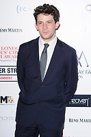 Josh O'Connor at the 38th Annual London Critics' Circle Film Awards at the Mayfair Hotel, London, UK. <br /> 28 January  2018<br /> Picture: Steve Vas/Featureflash/SilverHub 0208 004 5359 sales@silverhubmedia.com