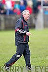 Tarbert manager in the Listowel Emmets vs Tarbert in the North Kerry Senior Football Final held last Sunday in Bob Stack Park, Ballybunion.