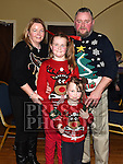 Caroline, Rachel Rose, Claire and Seamus McGrath at the Dunleer S Factor the Grove Hotel. Photo:Colin Bell/pressphotos.ie