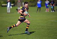 Action from the Auckland Under-85kg club rugby union match between University DCs and Eden Lizards at Colin Maiden Park in Auckland, New Zealand on Saturday, 25 July 2020. Photo: Dave Lintott / lintottphoto.co.nz