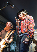 Miss Lavelle White's band at at the 2012 Blues and BBQ Festival in New Orleans, LA.