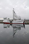 Port Townsend, Boat Haven, fishing vessel, Saint John II, longliner, Jefferson County, Olympic Peninsula, Puget Sound, Washington State, Pacific Northwest, USA,