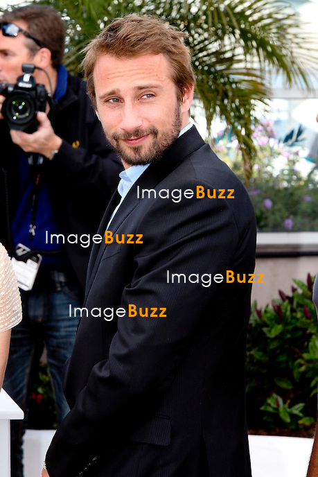 "France - Cannes, May 17th, 2012 -  Matthias Schoenaerts attend the "" De Rouille et d'Os "" Photocall at the Palais des Festival at the 65th Annual Cannes Film Festival."