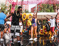 LAS VEGAS, NV - August 27, 2016: ***HOUSE COVERAGE*** Nicole Arbour hosts the Strip's Biggest Champagne Shower at GO Pool at Flamingo Las Vegas  in Las Vegas, NV on August 27, 2016. Credit: Erik Kabik Photography/ MediaPunch