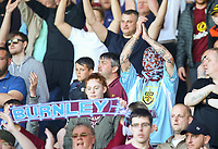 Burnley fans applaud their team at the end of the match<br /> <br /> Photographer Alex Dodd/CameraSport<br /> <br /> The Premier League - Burnley v Bournemouth - Sunday 13th May 2018 - Turf Moor - Burnley<br /> <br /> World Copyright &copy; 2018 CameraSport. All rights reserved. 43 Linden Ave. Countesthorpe. Leicester. England. LE8 5PG - Tel: +44 (0) 116 277 4147 - admin@camerasport.com - www.camerasport.com