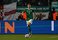 Tom Flanagan (Nordirland, Northern Ireland) - 19.11.2019: Deutschland vs. Nordirland, Commerzbank Arena Frankfurt, EM-Qualifikation DISCLAIMER: DFB regulations prohibit any use of photographs as image sequences and/or quasi-video.
