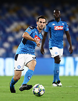 5th November 2019; Stadio San Paolo, Naples, Campania, Italy; UEFA Champions League Group Stage Football, Napoli versus Red Bull Salzburg; Fabian Ruiz of Napoli plays the ball through midfield - Editorial Use