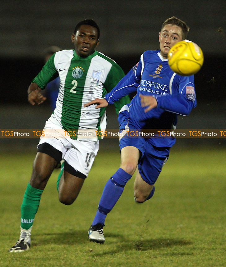 - Aveley vs Inner City Development XI, Friendly at Mill Field, Aveley - 26/10/11 - MANDATORY CREDIT: Rob Newell/TGSPHOTO - Self billing applies where appropriate - 0845 094 6026 - contact@tgsphoto.co.uk - NO UNPAID USE.