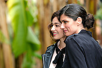 Ana Caterina Morariu e Anna Valle<br /> Roma 06-03-2017. Serie Tv Rai 'Sorelle' Photocall<br /> Foto Samantha Zucchi Insidefoto